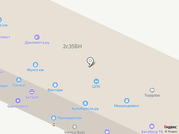 Sabershop.ru на карте Москвы