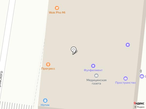 Юнион маркетс на карте Москвы