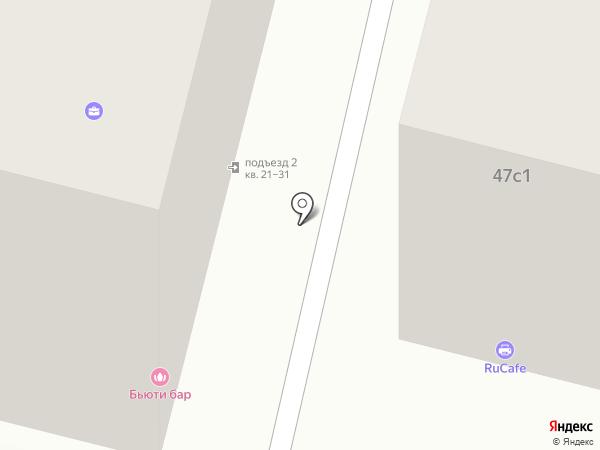 EasyWayService на карте Москвы