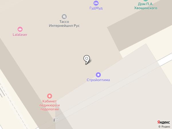 Пир О.Г.И. на карте Москвы