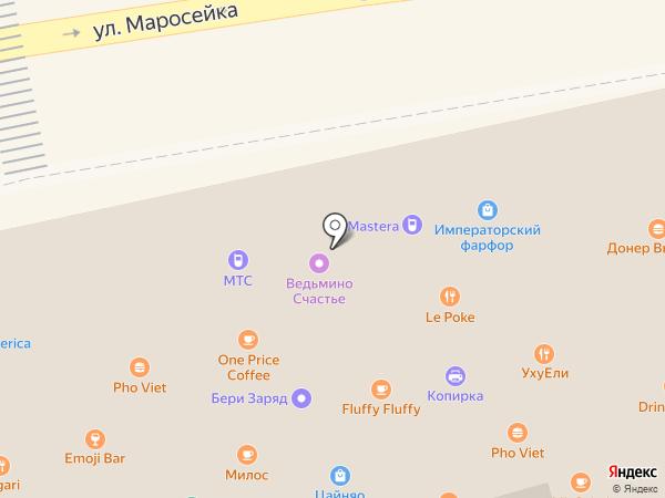 Aurum на карте Москвы