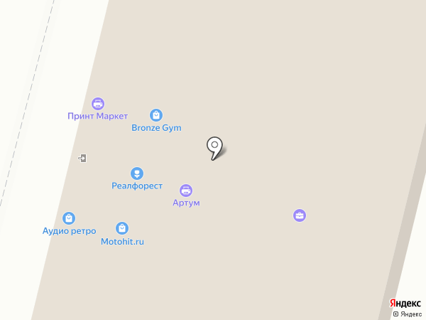Сталкер-полиграф на карте Москвы