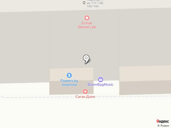 Мастерская по ремонту обуви на карте Москвы
