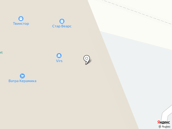 SETTEES на карте Москвы