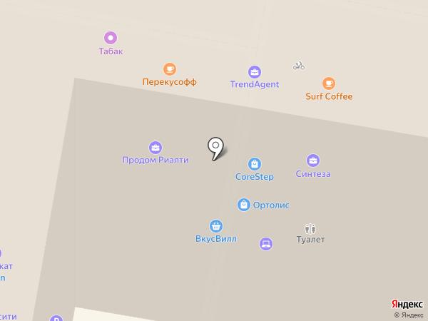 Московская академия снукера на карте Москвы
