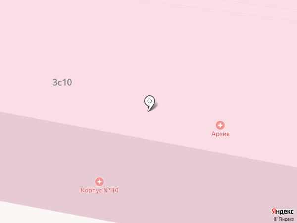 НИИ скорой помощи им. Н.В. Склифосовского на карте Москвы