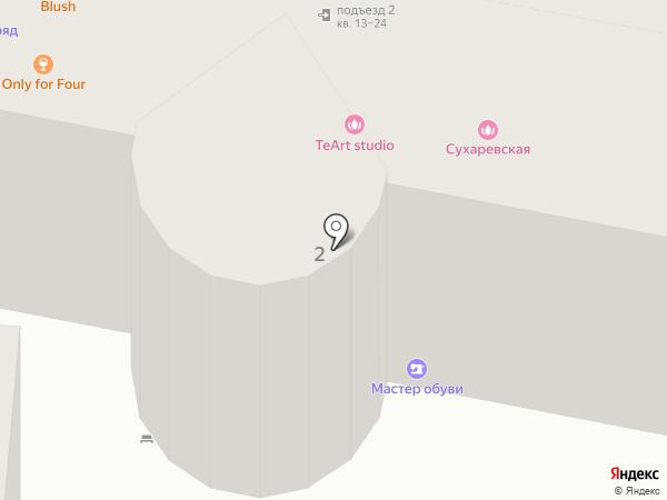 Бьянка люкс на карте Москвы
