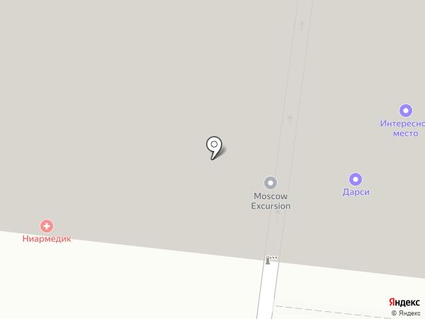 ДокторКлиник на карте Москвы