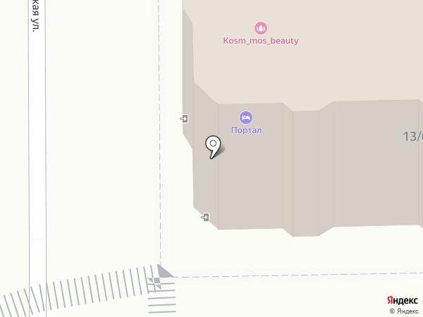 Портал на карте Москвы