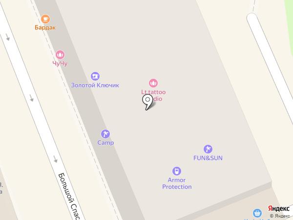 БонВи на карте Москвы