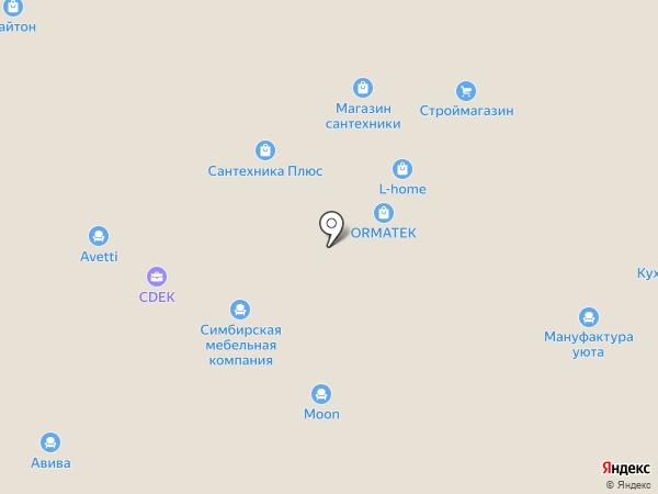Интерьерный вопрос на карте Москвы