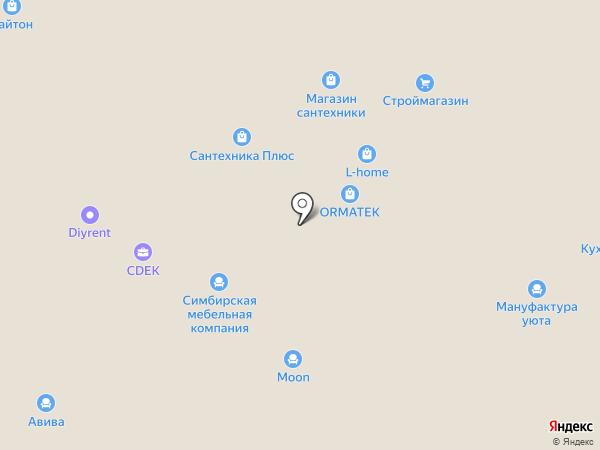 Олана-М на карте Москвы