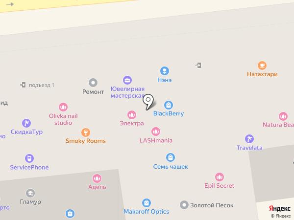 Wera на карте Москвы