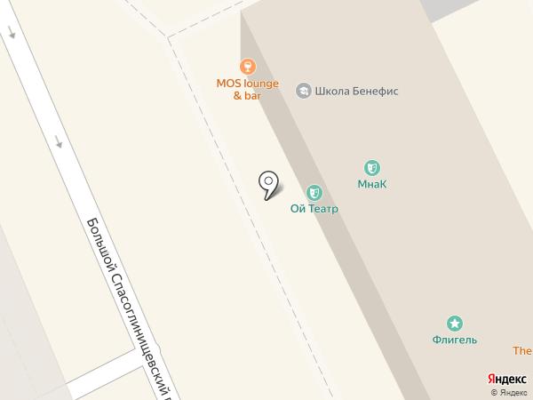 Мастерская на Кулишках на карте Москвы