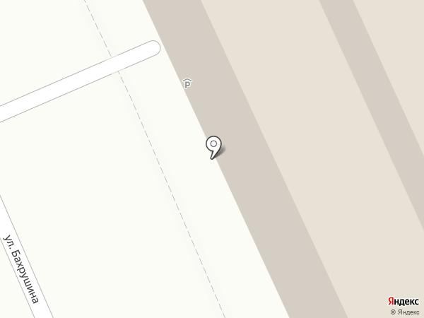 Ibis Moscow Centre Bakhrushina на карте Москвы