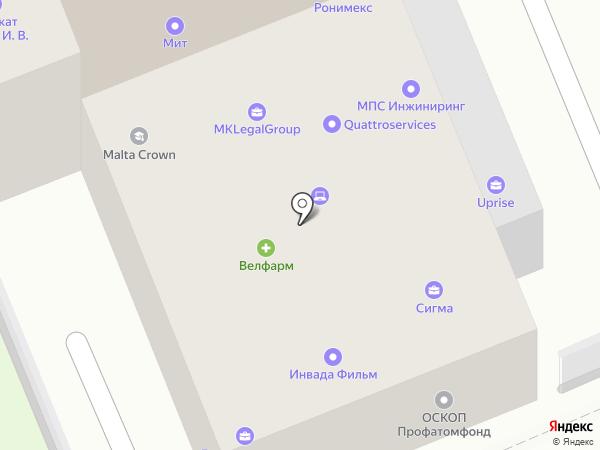 VIP Service International на карте Москвы