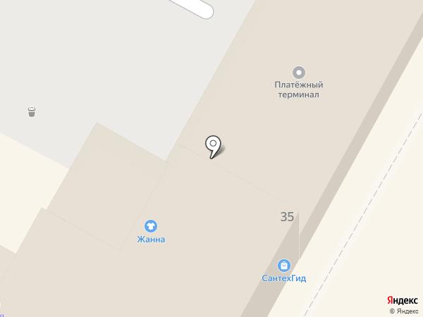 СантехГид на карте Тулы