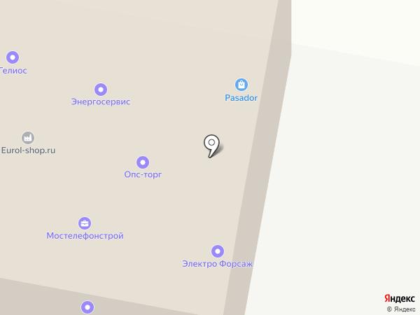 Prof Atlas на карте Москвы