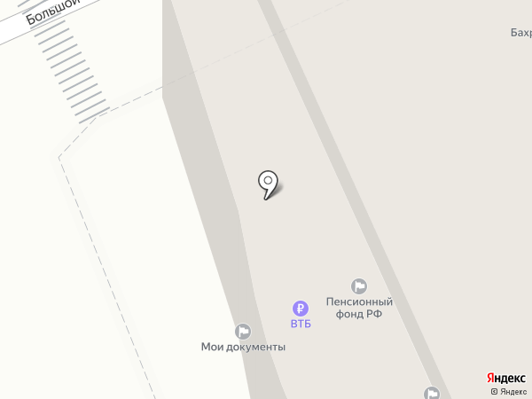 Госплатеж на карте Москвы
