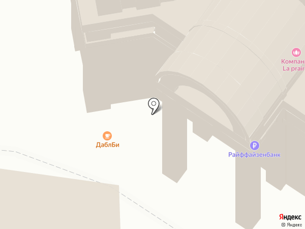 Даблби на карте Москвы