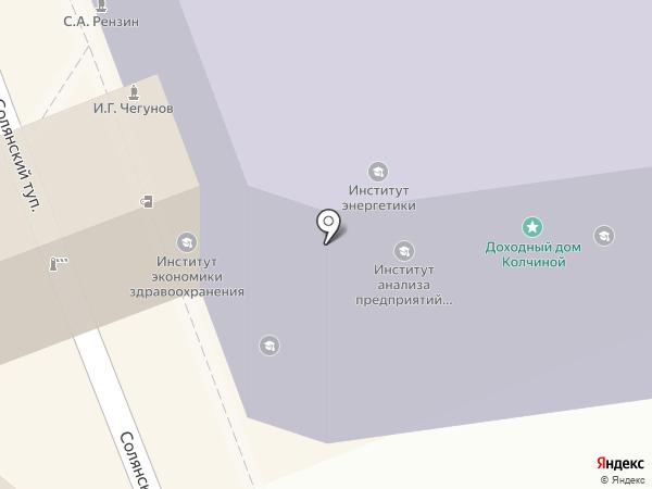 Ассоциация выпускников на карте Москвы