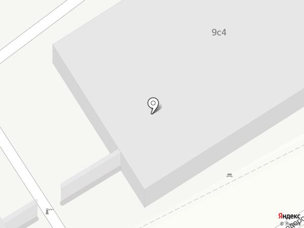 Лила-М на карте Москвы