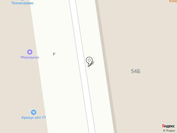 Москворечье Трейдинг на карте Тулы