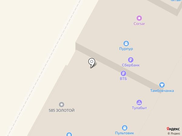 FastMoney на карте Тулы