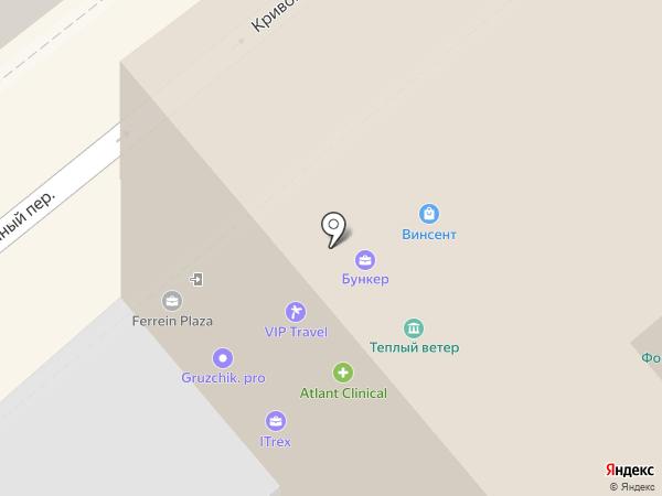 Гамма Плюс на карте Москвы