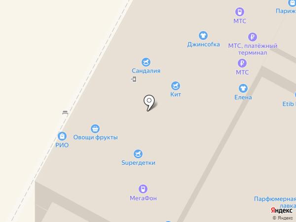 Super ДЕТКИ на карте Тулы