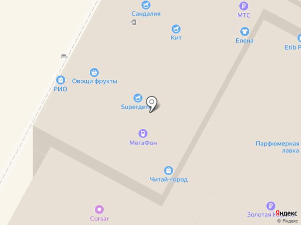 МТС на карте Тулы