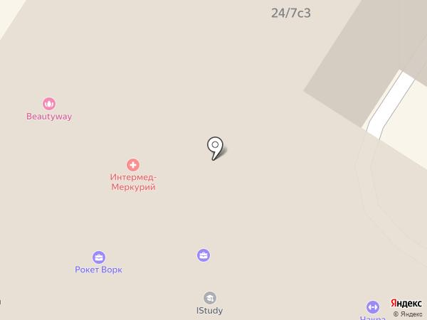 Корунд на карте Москвы