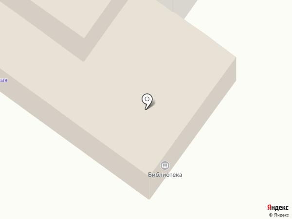 Мещерская сельская библиотека на карте Мещерского