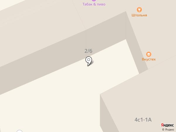 БухУчёт на карте Москвы