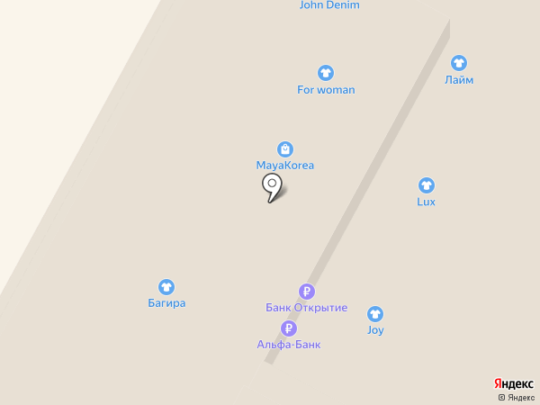 АБ на карте Тулы