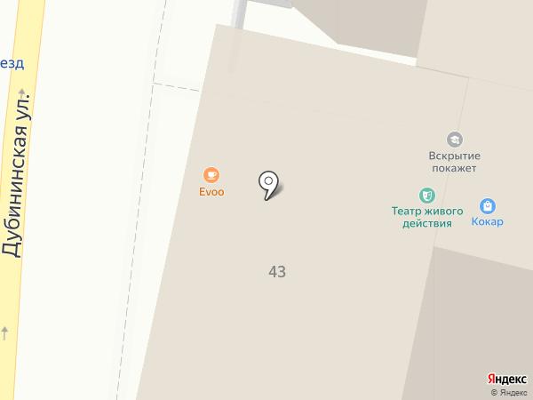 САМАРКАНД на карте Москвы