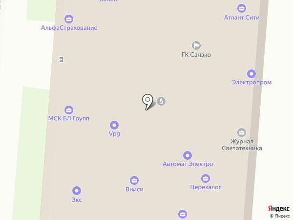КОРАЛ ТРЕВЕЛ на карте Москвы