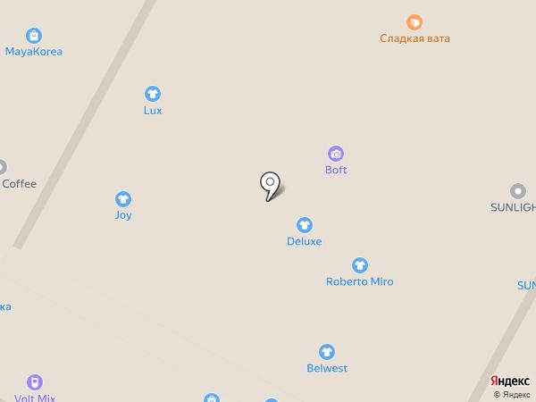 Belwest на карте Тулы