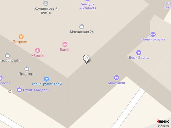 Спецстройсервис на карте Москвы