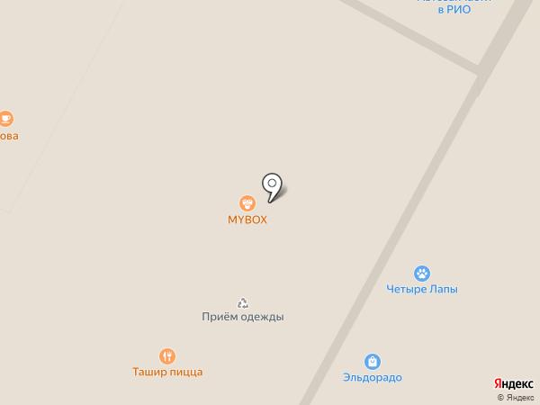 4 лапы на карте Тулы