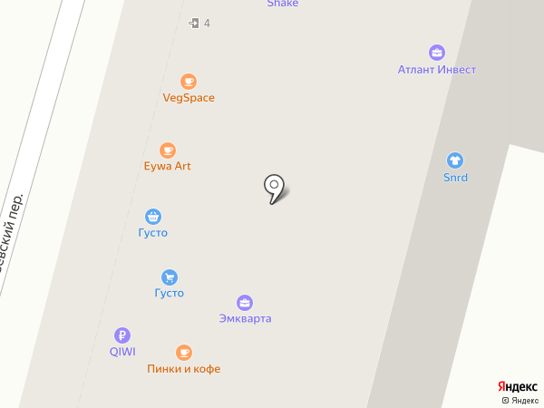 Challenge на карте Москвы
