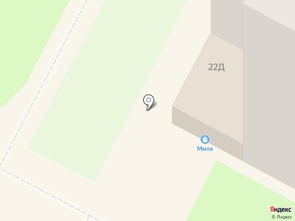 Мила на карте Тулы