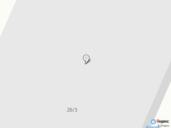 МОНОЛИТ на карте Тулы
