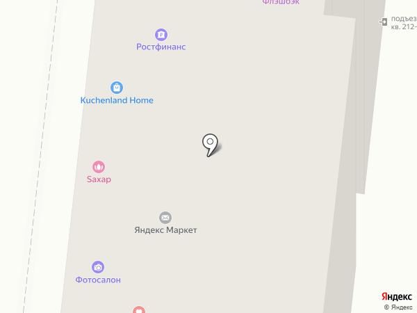 Стрижки & пальчики на карте Москвы