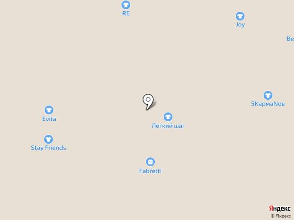 Легкий шаг на карте Тулы