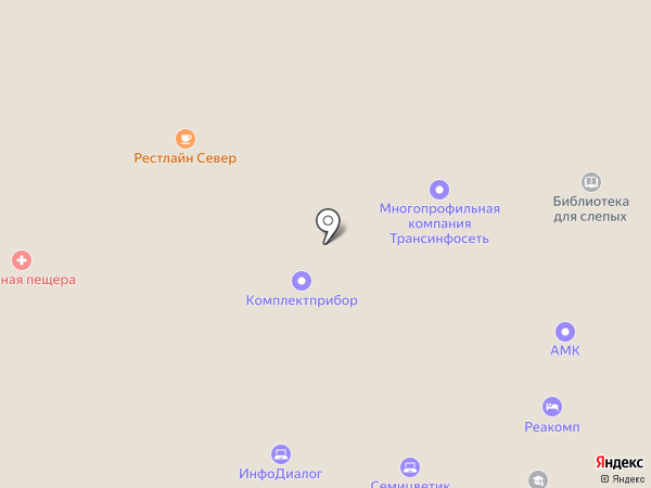 Институт бизнеса и дизайна на карте Москвы