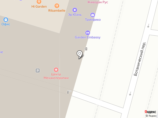CafeFive на карте Москвы