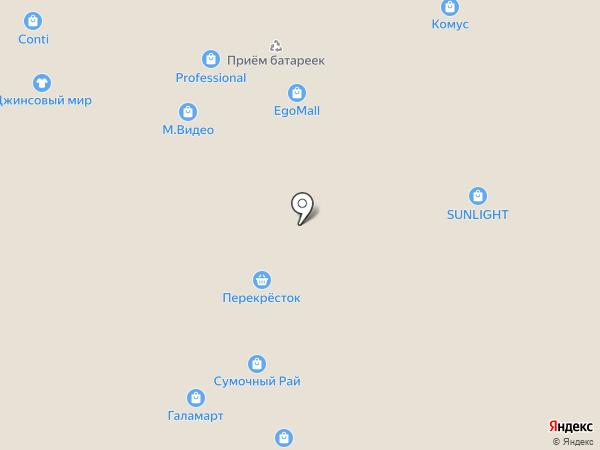 The Body Shop на карте Москвы