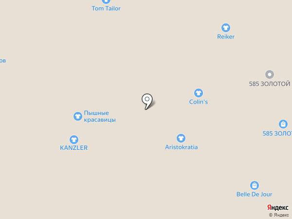 COLIN`S на карте Тулы