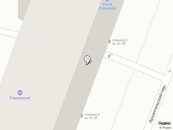 ARTIST HOSTEL на карте Москвы